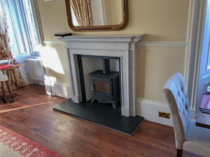 Fireplace design & installation in Stirling